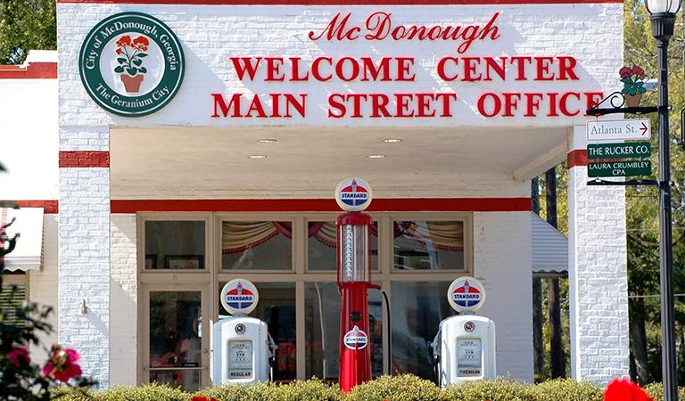 main street mcdonough welcome center - Halloween Express Mcdonough Ga