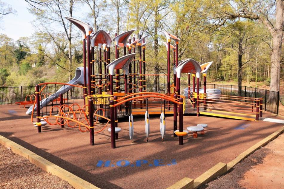 all inclusive playground at big spring park - Halloween Express Mcdonough Ga