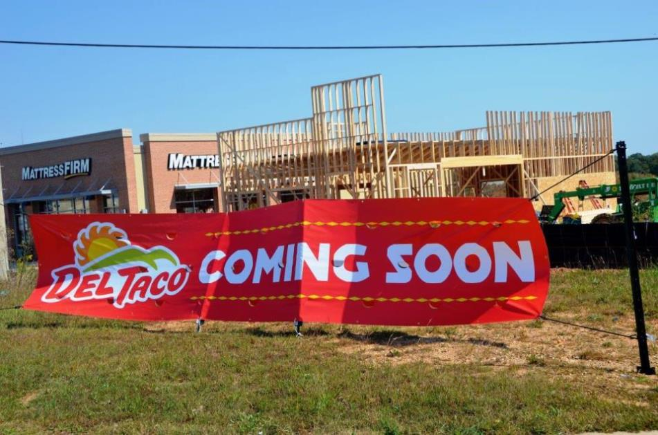 Del Taco Coming Soon! Hwy 20 (across from Southpoint)