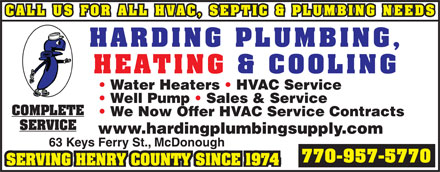 Harding Plumbing Heating & Cooling