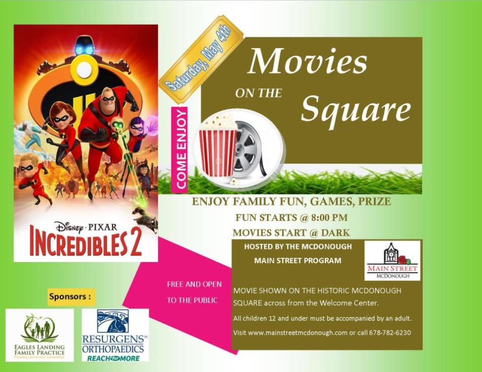 Movie on Sq MAY 4 2019 FLYER