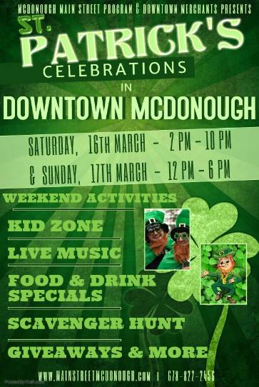 St Patrick's Celebration on the Sq 2019